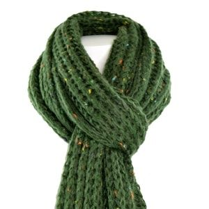 Steve Madden Womens Speckled Soft Knit Scarf New